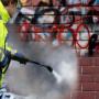 Antigraffiti: l'idropulitrice rimuove facilmente il graffito