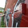 Antigraffiti vernice protettiva pigmentata
