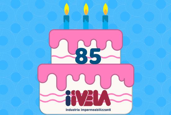 iiVELA impermeabilizzanti 85° anniversario